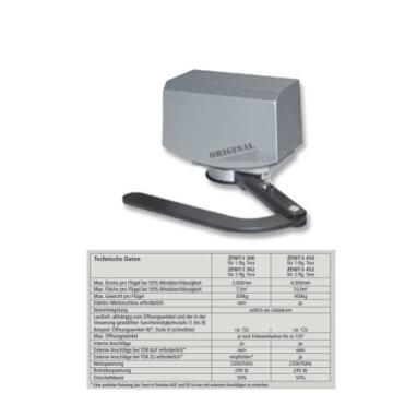 Bauer Drehtorantrieb Zenit-S 450 - 1