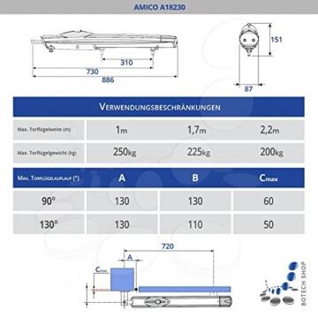 CAME Drehtorantrieb AMICO/1 (Set XL)