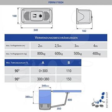 CAME Drehtorantrieb FERNI 4024/2 (Set XL) - 2