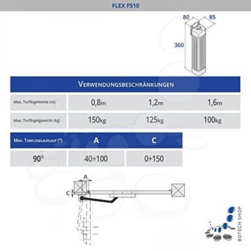 CAME Drehtorantrieb FLEX 510/2 (Set L) - 2