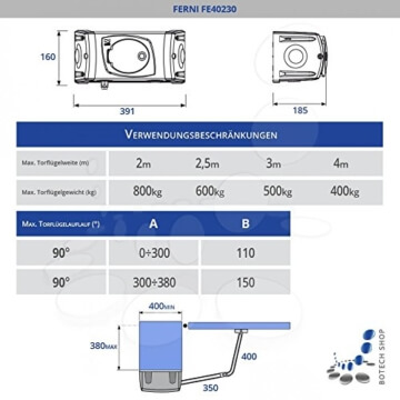 Drehtorantrieb CAME FERNI 40230 - 2