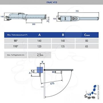 Drehtorantrieb FAAC - 2