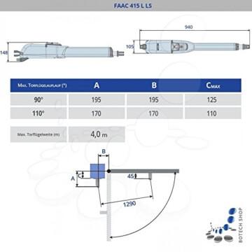 Drehtorantrieb FAAC 415 L LS - 2