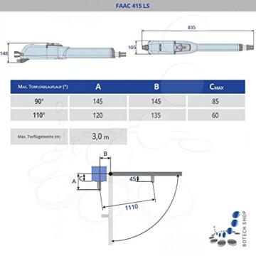 Drehtorantrieb FAAC 415 LS - 2